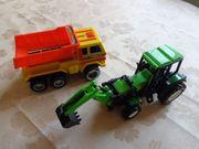 Spielzeugauto Aufziehautos 2 Stück Landschaftstraktor