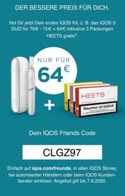 IQOS 15 Rabatt CLGZ97