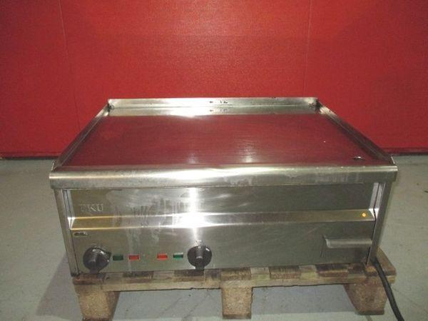 Hartverchromt Gastro Griddleplatte Grillplatte Bratstation