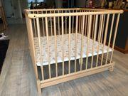 Laufstall 100x100 aus Holz von