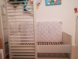Wiegen, Babybetten, Reisebetten - Neuwertig Paidi-Kinderbett Babybett Biancomo Umbausatz