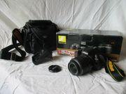 Nikon D3100 SLR-Digitalkamera Kit