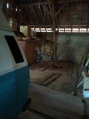 Einstellplatz Scheune für Wohnwagen