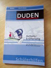 Duden - Aufsatz und Erörterung 7