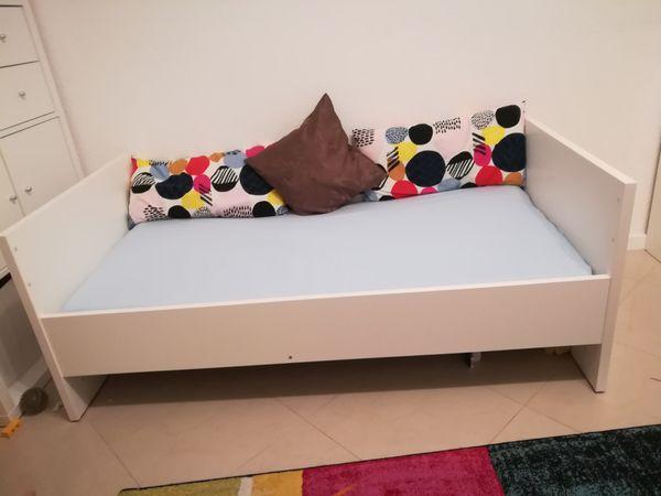Neuwertig Paidi-Kinderbett Babybett Biancomo Umbausatz