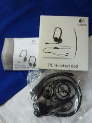 PC Headset 860 Logitech - unbenutzt