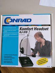 Komfort Headset KJ-970 Conrad