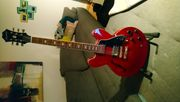 E-Gitarre Semi Akustik