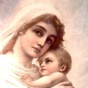 Madonna mit Jesusknaben sehr schönes
