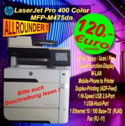 HP Laserjet 400 Color MFP-M475DN