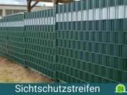 50m ZAUNIVERSUM Sichtschutzstreifen - Grün - NEU