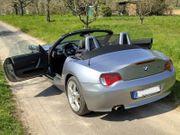 BMW Cabrio Z4 silber metallic