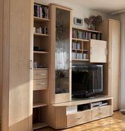schöne stabile Wohnzimmerwand