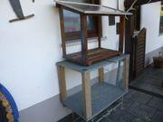 2 Stück Außen-VOLIEREN Metall Holz