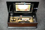 Antike Walzenspieldose Spieluhr music box