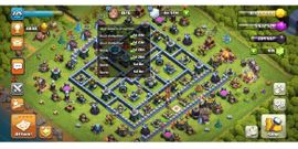 Full Max Rathaus 13 Account - Clash of Clans Account- COC