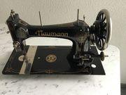 Alte Nähmaschine Untergestell Nähmaschine und