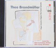 Theo Brandmüller - Orgelkonzert Orchesterwerke CD