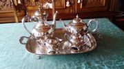 5 teilige Kaffee- und Teeset