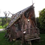 Abgelegenes Hexenhaus im Elsass nähe