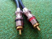 High End-Cinch-Kabel von Phoenix Gold