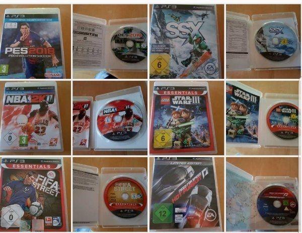 6 Stk PS3 Spiele