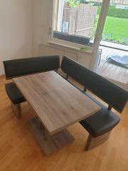 Eckbank inklusive 2 Stühle und