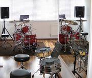 Für Drummer Top Musik-Übungsraum zu