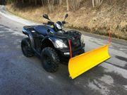Quad ATV CF-Moto Goes Iron