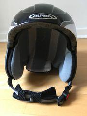 Alpina Kinder-Skihelm Carat schwarz Gr