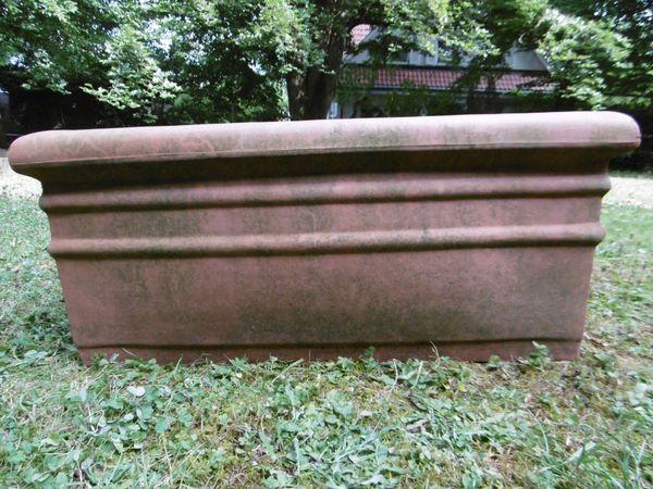 Großer Pflanzkübel Kunststoff, B 78 cm x T 37 cm x H 34 cm in ...