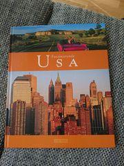 Buch über USA mit allen
