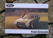 Betreibsanleitung Ford Granada I Ghia