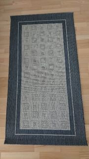 Flachwebeteppich 80 150 cm neu