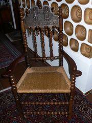 alte Hochzeitsstühle Holzstühle 2 Stück