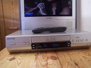 Pansasonic VHS Hifi-Videorekorder mit S-VHS-Wiedergabe