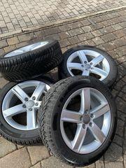 4x Alu Winterreifen Audi A