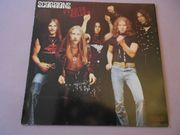 Schallplatte von der gruppe Scorpions