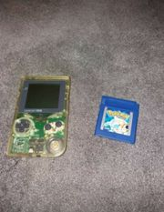 Gameboy pocket Pokemon Blau Pokemon