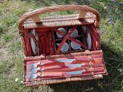 Picknickkorb aus Weide von Mendler