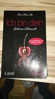 Buch Roman ich bin dein