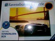 200 Teile Auto Ravensburger Puzzle
