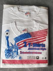 2 American Style T-Shirts Gr
