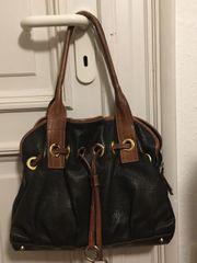 LSL Shopper Beuteltasche aus schwarzem
