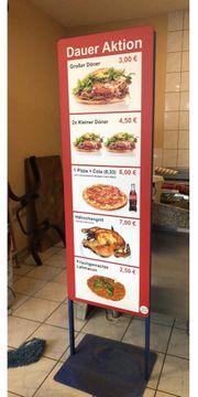 Gastronomie Strassenaufsteller