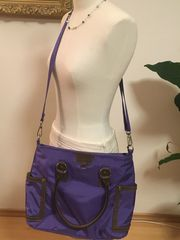 Shopper Cross-Body-Bag Große Tasche Nylon