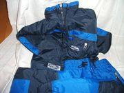 Ski-Anzug Größe 164 dunkel- und