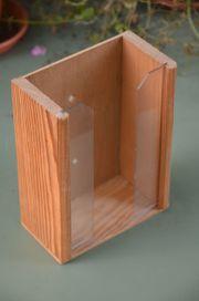 Taschentuchspender Holz zur Wandmontage passend