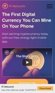 Pi Netzwerk Mining per Smartphone