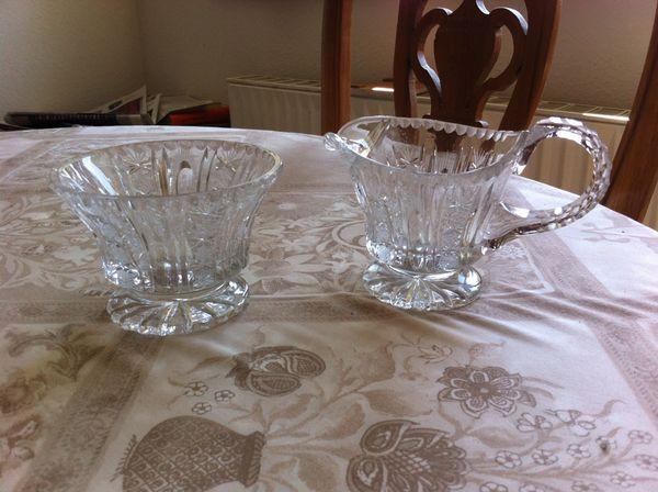 Für Sammler - Altes Kristallglas